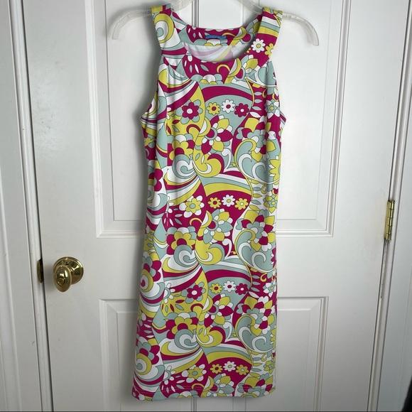 J. McLaughlin Floral Sleeveless Dress Size XS